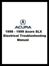 1998 - 1999 Acura SLX Electrical Troubleshooting Manual