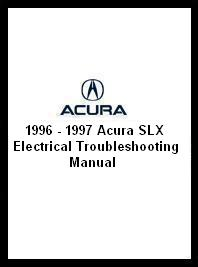 1996 - 1997 Acura SLX Electrical Troubleshooting Manual