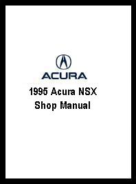 1995 Acura NSX Shop Manual