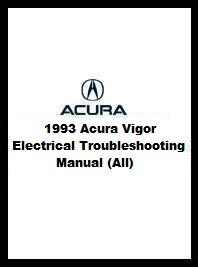 1993 Acura Vigor Electrical Troubleshooting Manual (All)