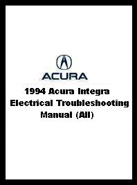1994 Acura Integra Electrical Troubleshooting Manual (All)