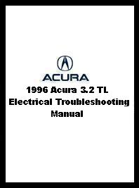 1996 Acura 3.2 TL Electrical Troubleshooting Manual