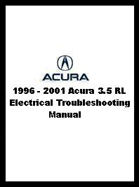 1996 - 2001 Acura 3.5 RL Electrical Troubleshooting Manual