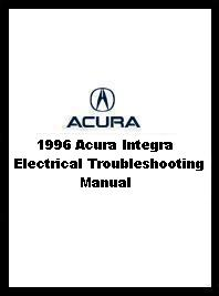 1996 Acura Integra Electrical Troubleshooting Manual