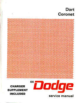 1966 Dodge Body, Chassis & Drivetrain Shop Manual