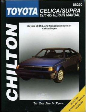 1971 - 1985 Toyota Celica & Supra, Chilton's Total Car Care Manual
