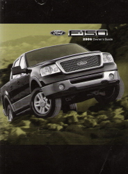 2006 Ford F150 Owner's Manual Portfolio