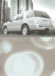 2006 Mercury Mountaineer Owner's Manual with Case