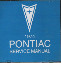 1974 Pontiac Service Manual on CD-ROM