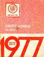 1977 Buick Chassis Service Manual All Series - 2 Volume Set