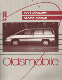 1991 Oldsmobile Silhouette Factory Service Manual