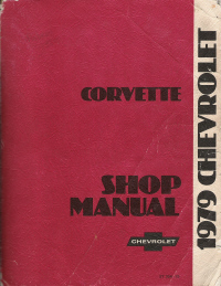 1979 Chevrolet Corvette Shop Manual