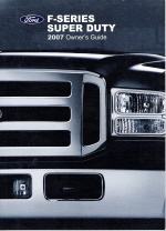 2007 Ford F-Series Super Duty Owner's Manual