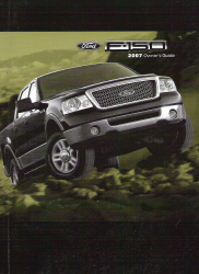 2007 Ford F-150 Owner's Manual with Case