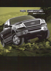 2007 Ford F150 Owner's Manual with Case