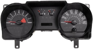 2006 - 2007 Ford Mustang Instrument Cluster Repair (4.6L, 4 Gauge, 140 MPH, 8000 RPM)