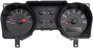 2006 - 2007 Ford Mustang Instrument Cluster Repair (4.0L, 6 Gauge, 120 MPH, 7000 RPM)