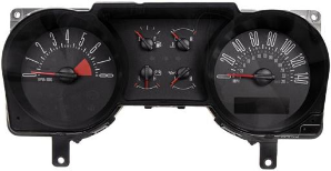 2006 - 2007 Ford Mustang Instrument Cluster Repair (4.6L, 6 Gauge, 140 MPH, 8000 RPM)