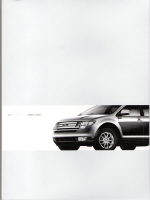 2008 Ford Edge Owner's Manual with Case