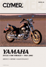1981 - 2003 XV535 thru XV1100 Yamaha Virago Clymer Repair Manual