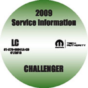 2009 Dodge Challenger Factory Service Manual on CD