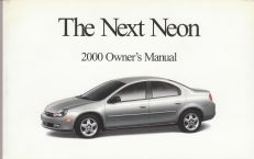 2000 Dodge Neon Owner's Manual