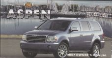 2007 Chrysler Aspen Owner's Manual