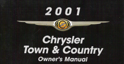2001 Chrysler Town & Country Owner's Manual