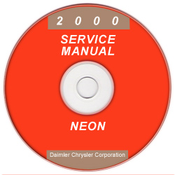 2000 Dodge Neon Service Manual - CD Rom