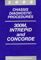 2002 Chrysler, Dodge 300M, Intrepid and Concorde Chassis Diagnostic Procedures