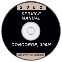 2002 Chrysler Concorde, 300M and Dodge Intrepid Service Manual - CD-ROM