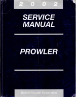 2002 Plymouth Dodge Prowler Factory Service Manual