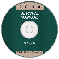 2004 Dodge Neon Service Manual - CD Rom