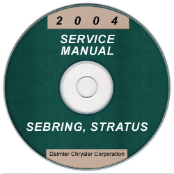 2004 Chrysler Sebring and Dodge Stratus Coupe Service Manual- CD ROM