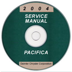 2004 Chrysler Pacifica Service Manual- CD ROM