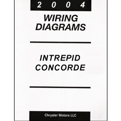 2004 Dodge Intrepid, Chrysler Concorde, 300M (LH) Wiring Diagrams