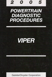 2005 Dodge Viper Powertrain Diagnostic Procedures