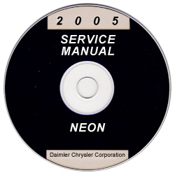 2005 Dodge Neon Service Manual- CD Rom