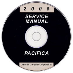 2005 Chrysler Pacifica Service Manual- CD-ROM