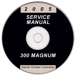 2005 Chrysler 300 & Dodge Magnum Service Manual- CD-ROM