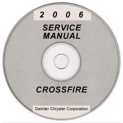 2006 Chrysler Crossfire Service Manual- CD-ROM