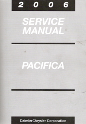 2006 Chrysler Pacifica Service Manual