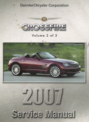 2007 Chrysler Crossfire (ZH) Service Manual - 3 Volume Set