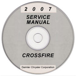 2007 Chrysler Crossfire (ZH) Service Manual on CD *XML & SVG*