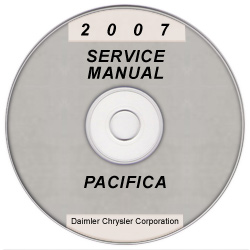 2007 Chrysler Pacifica (CS) Service Manual on CD *XML & SVG*