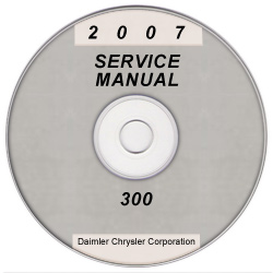 2007 Chrysler and Dodge 300, Charger, Magnum and SRT8 (LX) Service Manual on CD *XML & SVG*