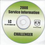 2008 Dodge Challenger Service Manual - CD Rom