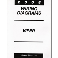 2008 Dodge Viper (ZB) Factory Wiring Diagram Manual