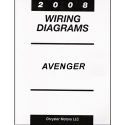 2008 Dodge Avenger and Chrysler Cirrus / Sebring (JS) Wiring Manual