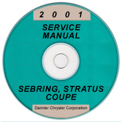 2001 Chrysler Sebring and Dodge Stratus Coupe Service Manual - CD-ROM